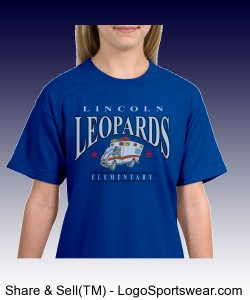 Youth Leopards EMT Shirt Design Zoom