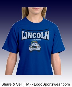 Lincoln Police Car Shirt Design Zoom