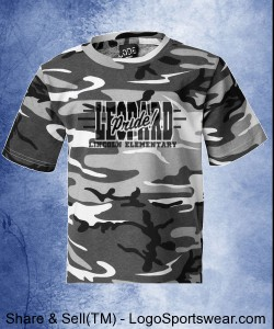 Youth Urban Camo Shirt Design Zoom